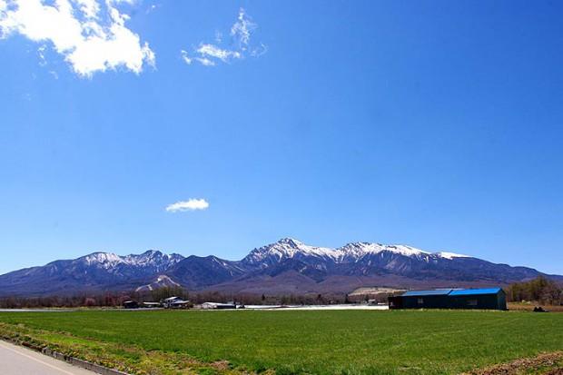 野辺山高原からの八ヶ岳