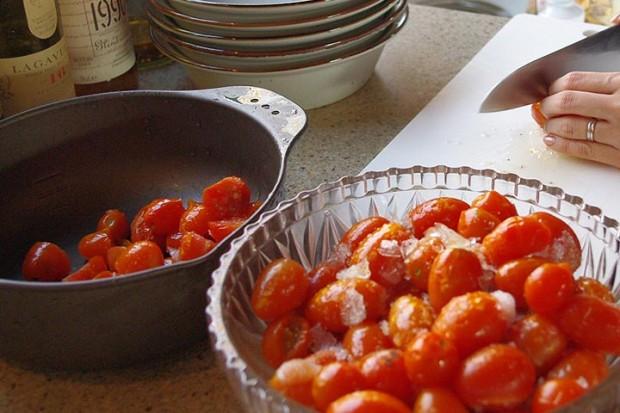 冷凍しておいたトマト