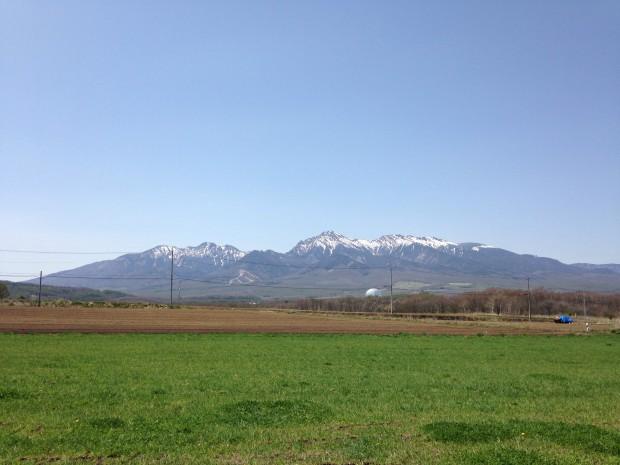快晴の八ヶ岳